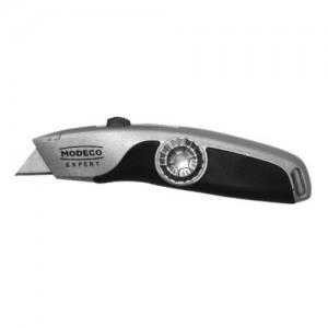 Nóż metalowy na ostrza trapezowe {Modeco 19 mm}