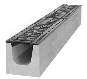 Odwodnienie liniowe z betonu {BIELET B125 H160}