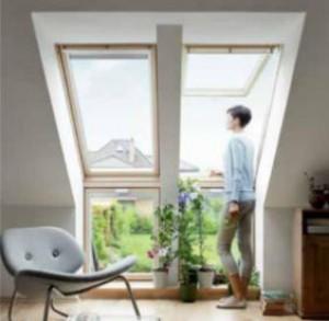 Okno dachowe {Velux Kolankowe VFE 3070 78 x 115}
