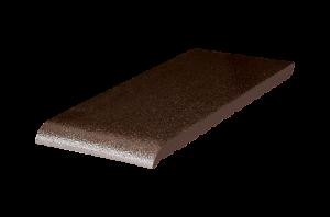 Parapet klinkierowy {Przysucha Brąz szkliwiony 320x105x28 mm}