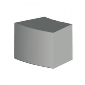 Siedzisko łukowe {Pebek Cubico ŚRUTOWANE 68×50cm}