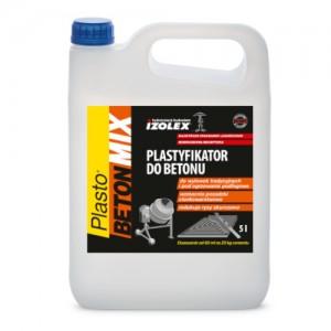 Plastyfikator do betonu {Izolex Plasto Betonmix 5 l}