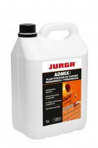 Plastyfikator do cementu {Jurga Admin Liquid 5 l}