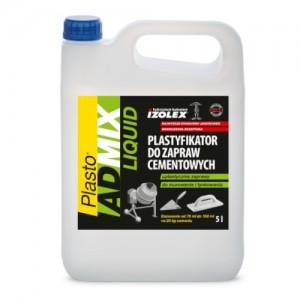 Plastyfikator do zapraw cementowych {Izolex Plasto Admix Liquid 5 l}