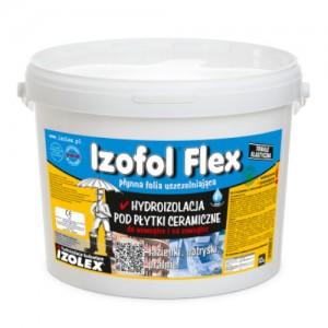 Płynna folia uszczelniająca {Izolex IZOFOL FLEX 12 kg}