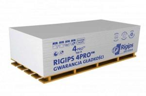 Płyta gipsowo-kartonowa {Rigips 4pro typ A 12,5 mm}