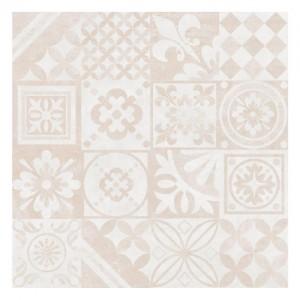 Płytka ceramiczna {Ceramica Limone Estra 02 Beż Dekor Lappato 60x60cm}