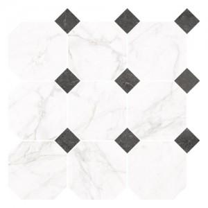 Płytka ceramiczna {Nowa Gala Frost White FW 01 poler mozaika 33 x 33 cm}