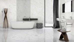 Płytka ceramiczna {Nowa Gala Frost White FW 01 poler mozaika 27 x 35 cm}