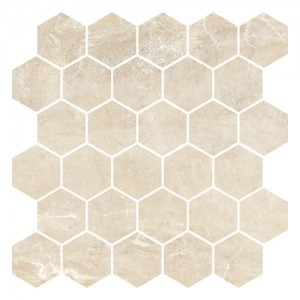 Płytka ceramiczna {Nowa Gala Golden Beige GB 03 poler mozaika 27 x 27 cm}