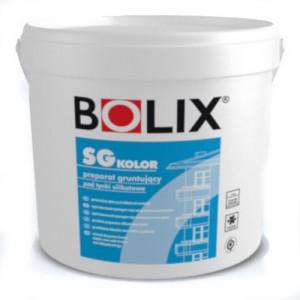 Podkład tynkarski pod cienkowarstwowe tynki silikatowe {Bolix SG Kolor 25 kg}