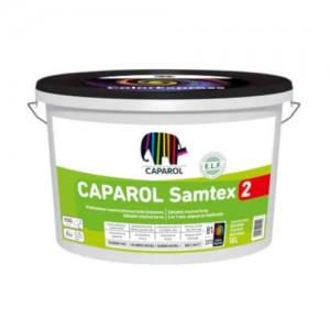 Podkładowo-nawierzchniowa farba lateksowa do wnętrz {Caparol Samtex 2 2,5 l}