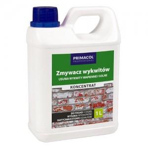Środek do usuwania wykwitów wapiennych i solnych {Primacol Professional Zmywacz wykwitów 1l}