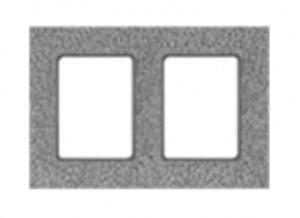 Pustak wentylacyjny dwukanałowy {Hoch 36x24x33 cm}