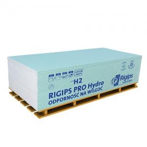 Płyta kartonowo-gipsowa impregnowane {RIGIPS PRO typ H2 GKBI 1200x2600x12,5mm}