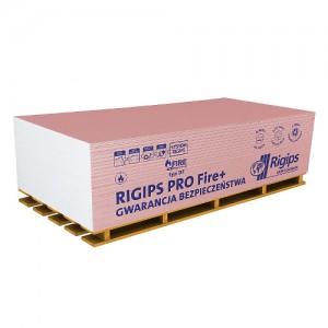 Płyta gipsowo-kartonowa typ DF {RIGIPS PRO Fire+ typ DF GKF 1200x2000x18mm}