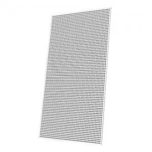 Perforowana płyta gipsowo-kartonowa typ A {RIGIPS Rigitone 12/25q 1200x2000x12,5mm z białą flizeliną}