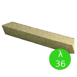 Bloczek trapezowy {Rockwool, λ036 92x68x193mm}