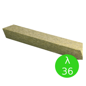 Bloczek trapezowy {Rockwool, λ036 135x89x221mm}