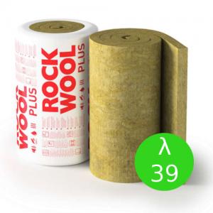 Maty ze skalnej wełny mineralnej do izolacji termicznej {Rockwool MEGAROCK PLUS, λ039 180x1000x3500mm}