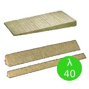 System płyt spadkowych z wełny skalnej {Rockwool ROCKFALL KSP, λ040 60/40/20/0x500x1000mm}
