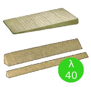 System płyt spadkowych z wełny skalnej {Rockwool ROCKFALL SP, λ040 60/90x1200x1000mm}