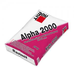 Samopoziomujący podkład podłogowy 25-60 mm {Baumit Alpha 2000 25 kg}