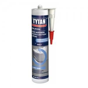 Silikon do wanien akrylowych i PCV {Tytan 310 ml}