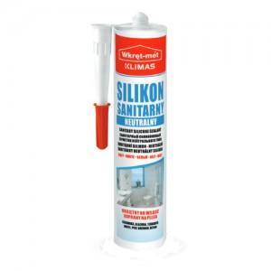 Silikon sanitarny neutralny {Wkręt-met PROFESSIONAL 310 ml}