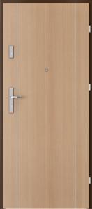PORTA {Drzwi wejściowe do mieszkania KOLEKCJA AGAT Plus MODEL INTARSJE 1}