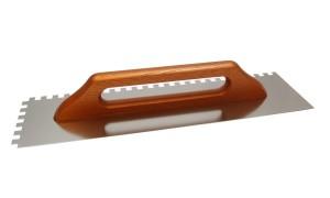 Paca nierdzewna zębata r. drewno {Solid 130x380 8x8mm}
