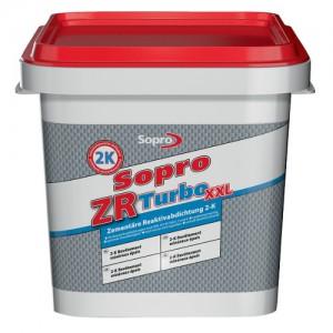 Cementowa reaktywna zaprawa uszczelniająca {Sopro ZR Turbo XXL 20kg}