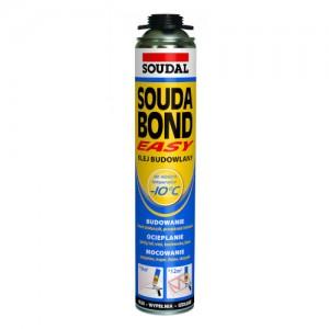Klej poliuretanowy w aerozolu {Soudal Soudabond Easy Winter 750ml}