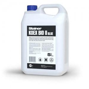 Biodegradowalny środek czyszczący do usuwania farb z elewacji {STAINER KOEX BIO II BLUE 5 l}