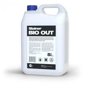 Środek do usuwania zanieczyszczeń mikrobiologicznych {STAINER BIO OUT 5 l}