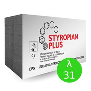 Styropian {Styropian Plus PODŁOGA GRAFIT EPS 100 031 FREZ 8 cm 3,34 m2}