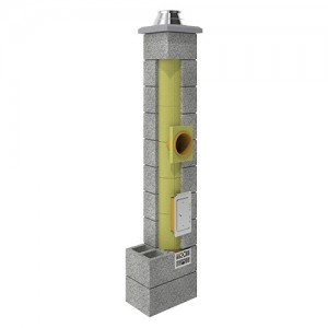 System kominowy {KONEKT UNI 36Fi 200PKW 4 m}