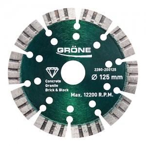 Tarcza diamentowa {Grone GDB-ST-PRO 125 mm}