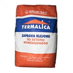 Zaprawa do murowania i szpachlowania {Termalica Biała Premium 25kg}