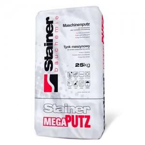 Tynk maszynowy cementowo-wapienny {Stainer MEGA PUTZ 25 kg}