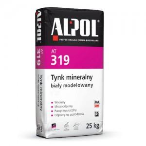 Tynk mineralny modelowany biały {Alpol AT 319 25 kg}