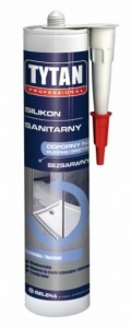 Silikon sanitarny {Tytan SIT-NS-BI-031 280 ml}