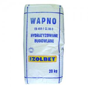 Wapno hydratyzowane budowlane {Izolbet 20 kg}