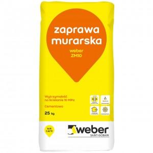 Zaprawa murarska  cienkowarstwowa {Weber ZM10 fix 25 kg}