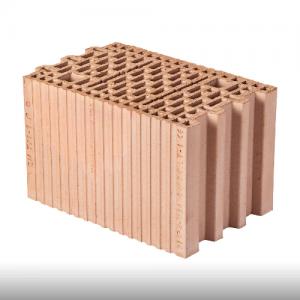 Pustak ceramiczny {Wienerberger Porotherm 25 3x1/3 P + W, kl. 15}