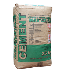 Cement {Włodar MAX 42,5 R 25 kg}