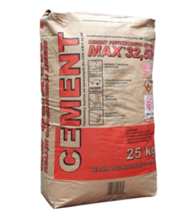 Cement {Włodar MAX 32,5 R 25 kg}