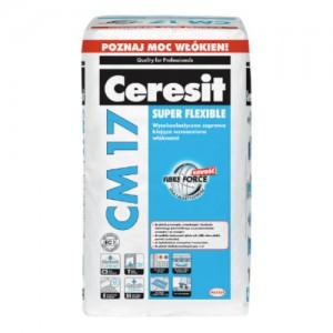 Wysokoelastyczna zaprawa klejąca {Ceresit CM 17 25 kg}