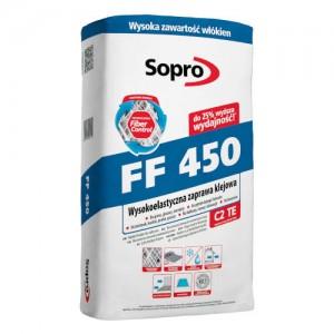 Zaprawa klejowa wysokoelastyczna {Sopro FF 450 25 kg}