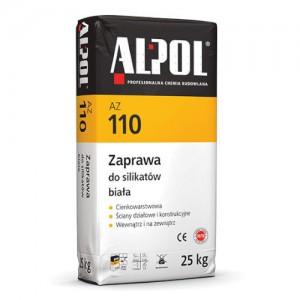 Zaprawa do silikatów biała {Alpol AZ 110 25 kg}